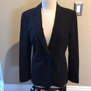 Boss Hugo Boss one button blazer black 38